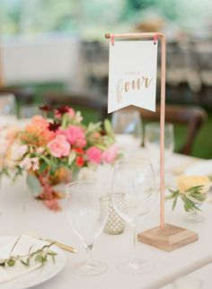 colorful DIY wedding centerpiecevia Photography Ruth Eileen