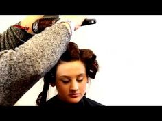 Blow your hair with a round brush
