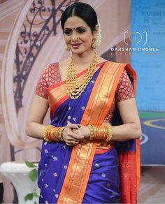 Sarees - Sarees Online, Indian Designer Sarees, Sarees For Women Marathi Saree, Marathi Bride, Maharashtrian Saree, Marathi Wedding, Kashta Saree, Saree Dress, Sabyasachi Sarees, Lehenga, Indian Beauty Saree