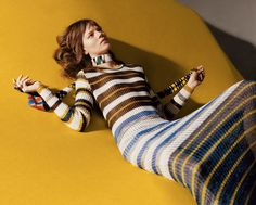 freja beha erichsen by harley weir for missoni spring / summer 2016 | visual optimism; fashion editorials, shows, campaigns & more!