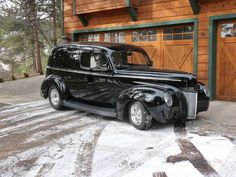1940 Ford Sedan Delivery.