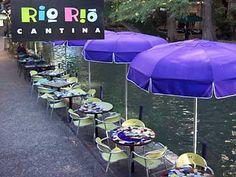 Rio Rio Cantina, San Antonio, TX - enjoy the River Walk while sipping margaritas and enjoying chips and salsa (awesome salsa!)