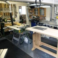 Workshop garage- Leo would love this