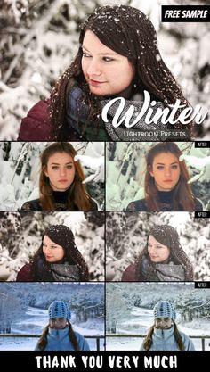 Introducing 3 free Sample of Winter Lightroom Presets for winter photographers and these presets can be used in Lightroom 6 & Lightroom CC. Best Free Lightroom Presets, Professional Lightroom Presets, Lightroom 4, Photoshop Tips, Photoshop Tutorial, Photoshop Overlays, Snow Photography, Photography Camera, Photography Business