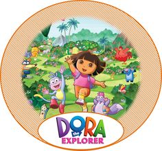 Free Dora the Explorer Party Ideas - Creative Printables
