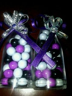 purple Prom Party Decorations | Purple,Black and Zebra Print New Years Party Ideas | Photo 12 of 19 ...