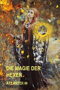 Magisches Wissen. Wahre Magie bedeutet spirituelle Entwicklung und Selbstverwirklichung. Magie hat mit der Verbindung zur Natur und zum Kosmos zu tun und damit, dass dich deine innere Kraft dazu befähigt, deine Wünsche zu verwirklichen. Beltane, Samhain, Witch, Movie Posters, Intuition, Witchcraft, Spiritual, Knowledge, Nature