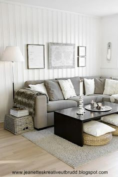 Scandinavian family room
