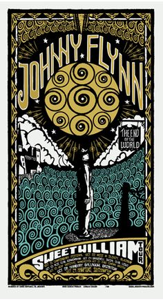 Johnny Flynn. Sweet William poster.
