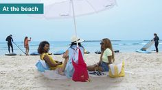 Take the inside bag out and use MySunBag as a reliable and a practical solution to stabilize a beach umbrella on the beach. Must Have Gadgets, Inside Bag, Beach Umbrella, Beach Fun, All About Fashion, Women's Accessories, Have Fun, Outdoor Blanket, Stylish