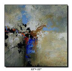 Acrylic on wood panel abstract art for SALE...