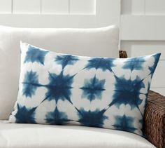 Zuma Starburst Indoor/Outdoor Lumbar Pillow | Pottery Barn