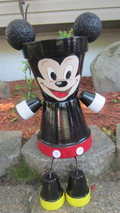 10 Planter Pot Person People Garden Friend by GARDENFRIENDSNJ