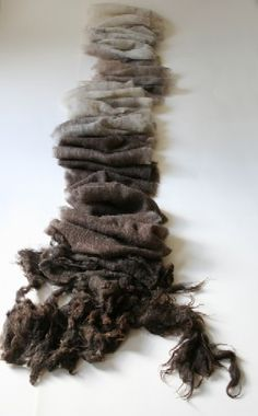 Liz CLay - Wool fold, wool paper