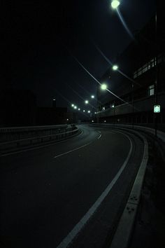 Night Road by Louis du Mont