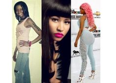 15 Nicki Minaj's Transformation that shows that she's very crazy – Checkout which of her body part is fake (With Pics)