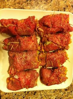 Pressure Cooker Chicago Steak Roll Ups