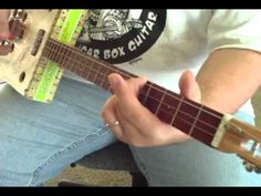 How to Play Cigar Box Guitar 3 String Blues licks by Shane Speal - YouTube