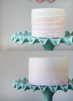 Watercolor-Cake-Duo