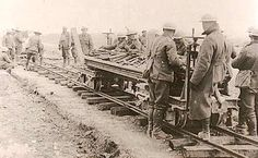 Railways to trenches