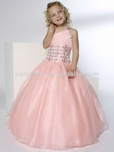 vestidos de princesas infantil 7