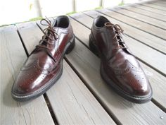 Fräscha Oakwoods made in USA skinn brouges skor shoes 43-44 på Tradera.