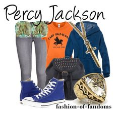"""""""Percy Jackson"""" by fofandoms ❤ liked on Polyvore"""