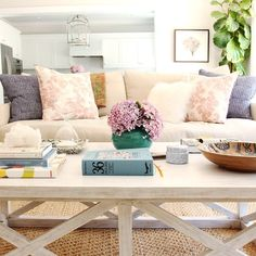 Coffee table styling tips @studiomcgee