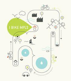 Bike MPLS in Illustration
