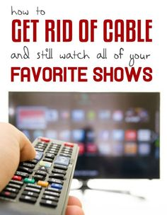 Best tv options getting rid of cable