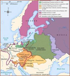 Map of Central,Northern and Eastern Europe in second half of century European Map, European History, Seven Years' War, Holy Roman Empire, Old World Maps, Fantasy Map, Alternate History, Central Europe, Historical Maps