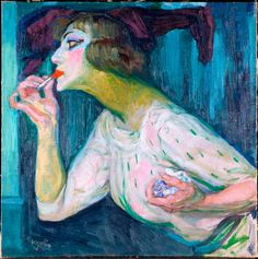 František Kupka The Lipstick, c. František Kupka was a Czech painter and graphic artist. He was a pioneer and co-founder of the early phases of the abstract art movement and.
