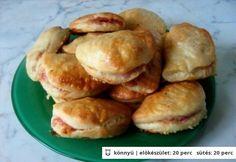 Hungarian Recipes, Hungarian Food, Canapes, Empanadas, Pretzel Bites, Bacon, Bakery, Food And Drink, Potatoes