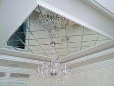 Зеркальные натяжные потолки: плюсы и особенности дизайна.