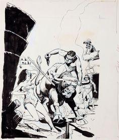 Original Comic Art:Covers, Jack Sparling Naza #8 Cover Original Art (Dell, 1965).... Image #1