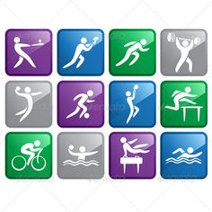 Realistic Graphic DOWNLOAD (.ai, .psd) :: http://jquery.re/pinterest-itmid-1006319366i.html ... Sport Icons ...  Track And Field, athletic, baseball, basketball, biking, competition, cycling, drawing, football, gymnastics, icons, illustration, recreation, running, soccer, sport, swimming, vector, volleyball, waterpolo, weightlifting  ... Realistic Photo Graphic Print Obejct Business Web Elements Illustration Design Templates ... DOWNLOAD :: http://jquery.re/pinterest-itmid-1006319366i.html