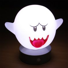 Fancy - Super Mario Motion Sensor Boo Lamp