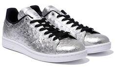 adidas Orignals STAN SMITH [METALLIC SILVER / CORE BLACK / RUNNING WHITE] AQ4706