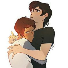 Klance credit to jackalopesart on Tumblr