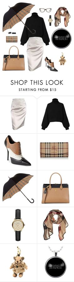 """Introvert"" by wednesday-addams-i ❤ liked on Polyvore featuring Lanvin, Diesel, Gucci, Burberry and Prada"