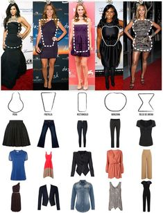 Rectangle Body Shape - What to Wear Fashion Terms, Fashion 101, Fashion Advice, Look Fashion, Fashion Outfits, Womens Fashion, Fashion Design, Woman Outfits, Fashion Moda