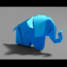 Oragami elephant :-)