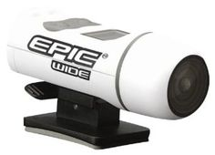 Epic Stealth Cam Wide Angle Adventure Sport Camera Kit (White, Small) by Epic. $84.98. 640 x 480 digital video with audio. SD memory card accepts u to 16 GB (Subject to card capacity under different brands).Easy two button operation. Small Compact, Kit includes many attachment accessories including Strap, Waterproof Shell and 2gb SD Card.. EPIC Wide Angle Action Vidoe Cam 5.0 MP for Still Images & VGA for Video. 168 Degree WIDE Angle lens. 30 Frames per Second...