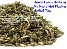 No More Hot Flashes Herbal Tea, Hand blended, Order now, FREE shipping