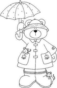 This Screams Color Me W Copics Find Pin And More On Coloring Pages Teddy Bears