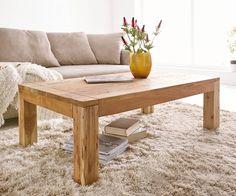 Couchtisch Amadora 120x70 Cm Altholz Natur Massivholz Möbel Tische  Couchtische
