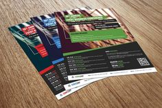 Conference or Event Flyer by grati on @creativemarket