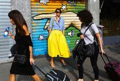 Street Style: Milan Fashion Week Spring 2015 — Vogue