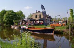 het vaantje in Reeuwijk, favorite stop with our boat.