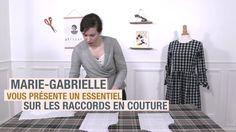 Cours vidéo de couture - rayures, carreaux et motifs en couture ! #artesane #coursdecouture cours de couture en ligne, accessible à vie en illimité